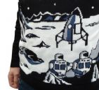 Spaceman -  Moon Landing Jumper (Black)